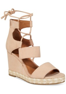 Frye Women's Roberta Ghillie Wedge Sandals Women's Shoes