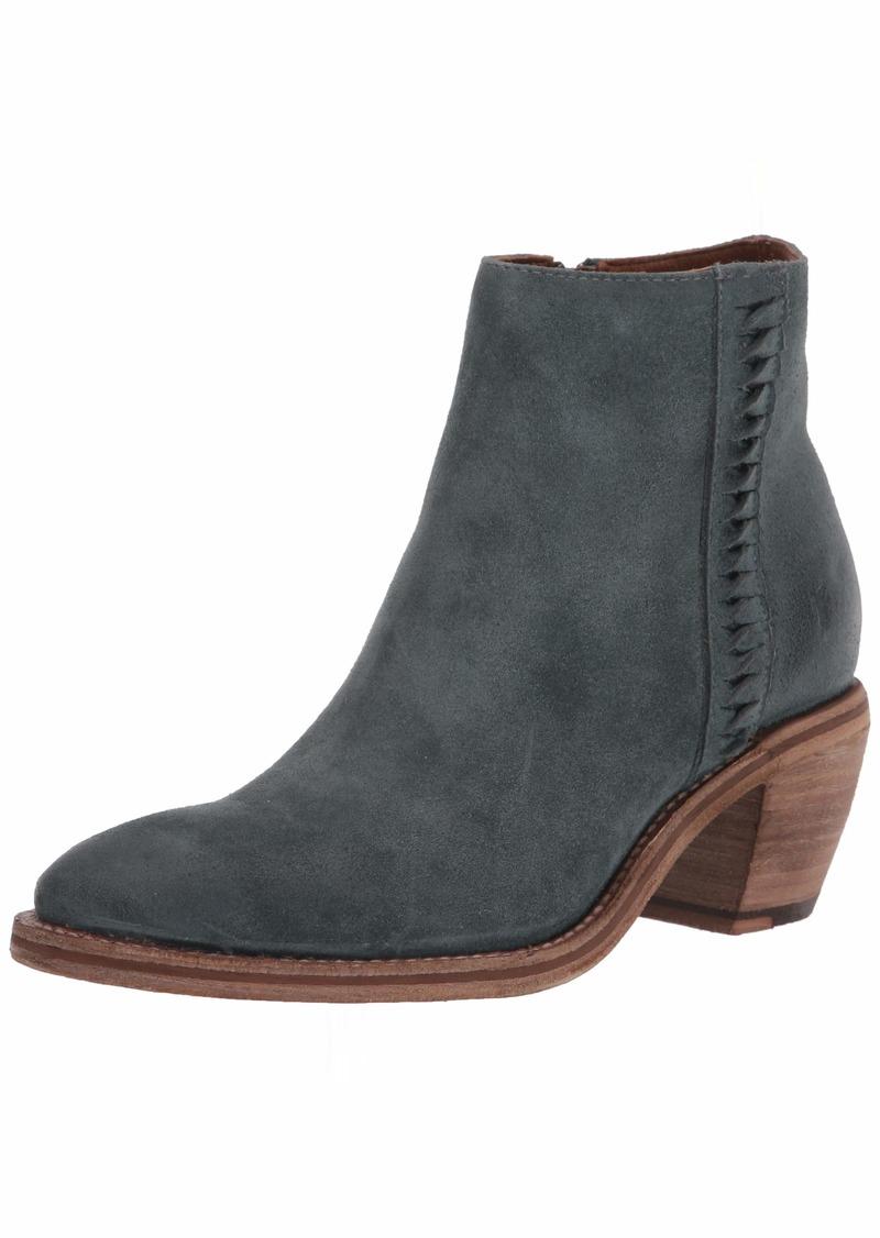 Frye Women's Rosalia Feather Bootie Ankle Boot sea Pine  M US