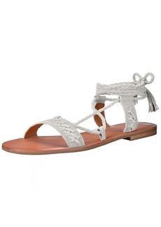 Frye Women's Ruth Whipstitch Ankle Gladiator Sandal   M US