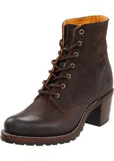 FRYE Women's Sabrina 6G Lace-Up Boot Dark Brown