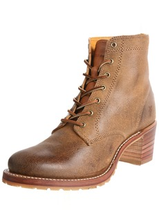 FRYE Women's Sabrina 6G Lace-Up Boot Tan