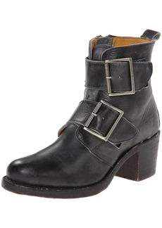 FRYE Women's Sabrina Double Buckle Boot Black