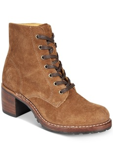 Frye Women's Sabrina Lace-Up Boots Women's Shoes