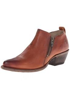 FRYE Women's Sacha Moto Shootie Western Boot Cognac