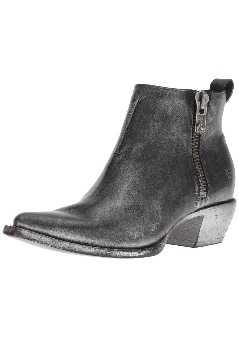 FRYE Women's Sacha Moto Shortie Ankle Boot black/multi  M US