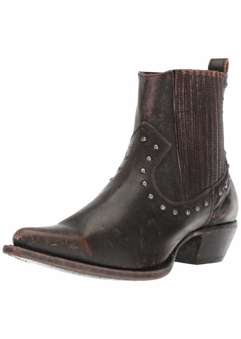 FRYE Women's Sacha Stud Chelsea Western Boot   M US