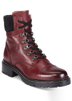 Frye Women's Samantha Lace-Up Booties Women's Shoes