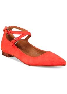 Frye Women's Sienna Cross Ballet Flats Women's Shoes