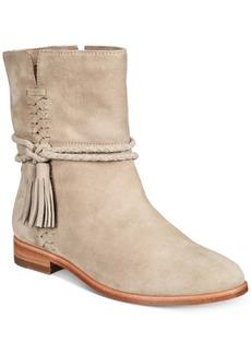 Frye Women's Tina Whipstitch Tassel Booties Women's Shoes