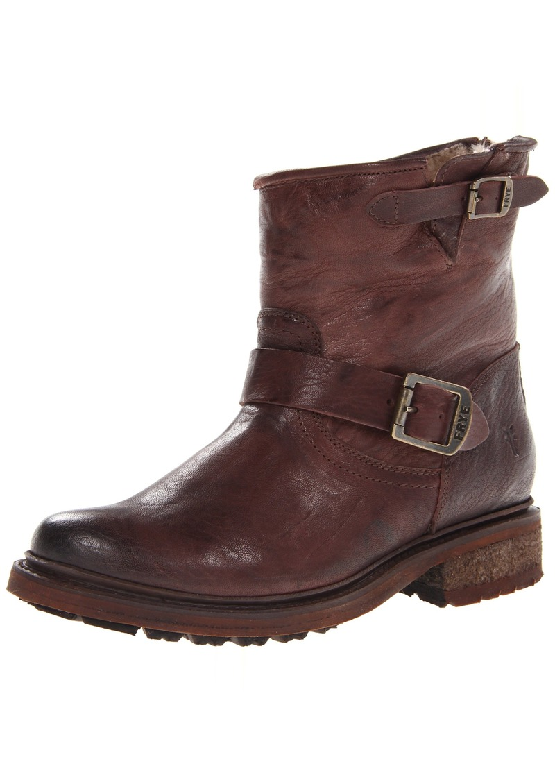 FRYE Women's Valerie Sherling 6 Boot Dark Brown