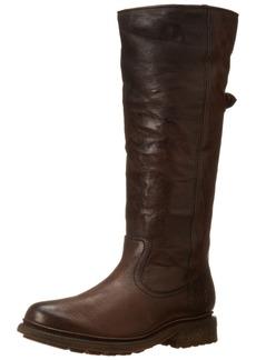 FRYE Women's Valerie Sherling Pull-On Riding Boot Dark Brown