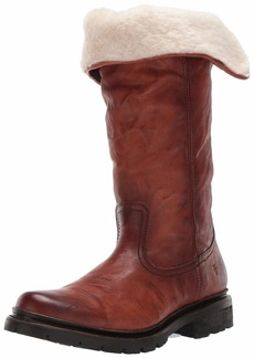 FRYE Women's Vanessa Pull ON Knee High Boot cognac  M US