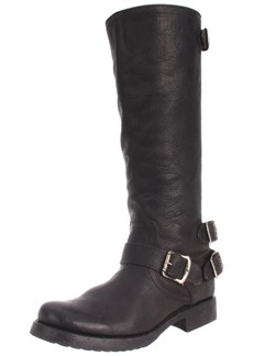 FRYE Women's Veronica Back-Zip Boot Black Stone Antique