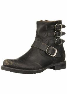 Frye Women's Veronica Belted Short Ankle Boot   Medium US
