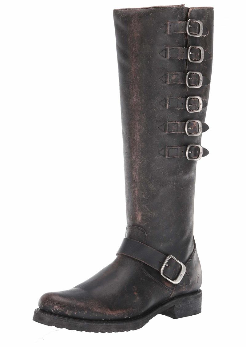 Frye Women's Veronica Belted Tall Knee High Boot   Medium US