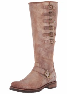 Frye Women's Veronica Belted Tall Knee High Boot   Medium US