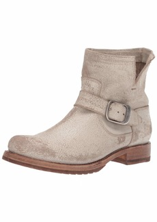 FRYE Women's Veronica Bootie Ankle Boot off white  M US
