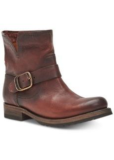 Frye Women's Veronica Leather Booties Women's Shoes