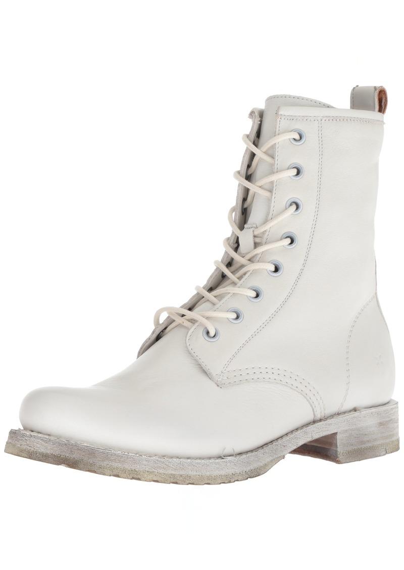 FRYE Women's Veronica Combat Ankle Boot   M US