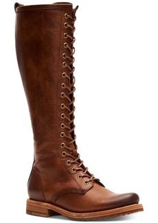 Frye Women's Veronica Combat Boots Women's Shoes