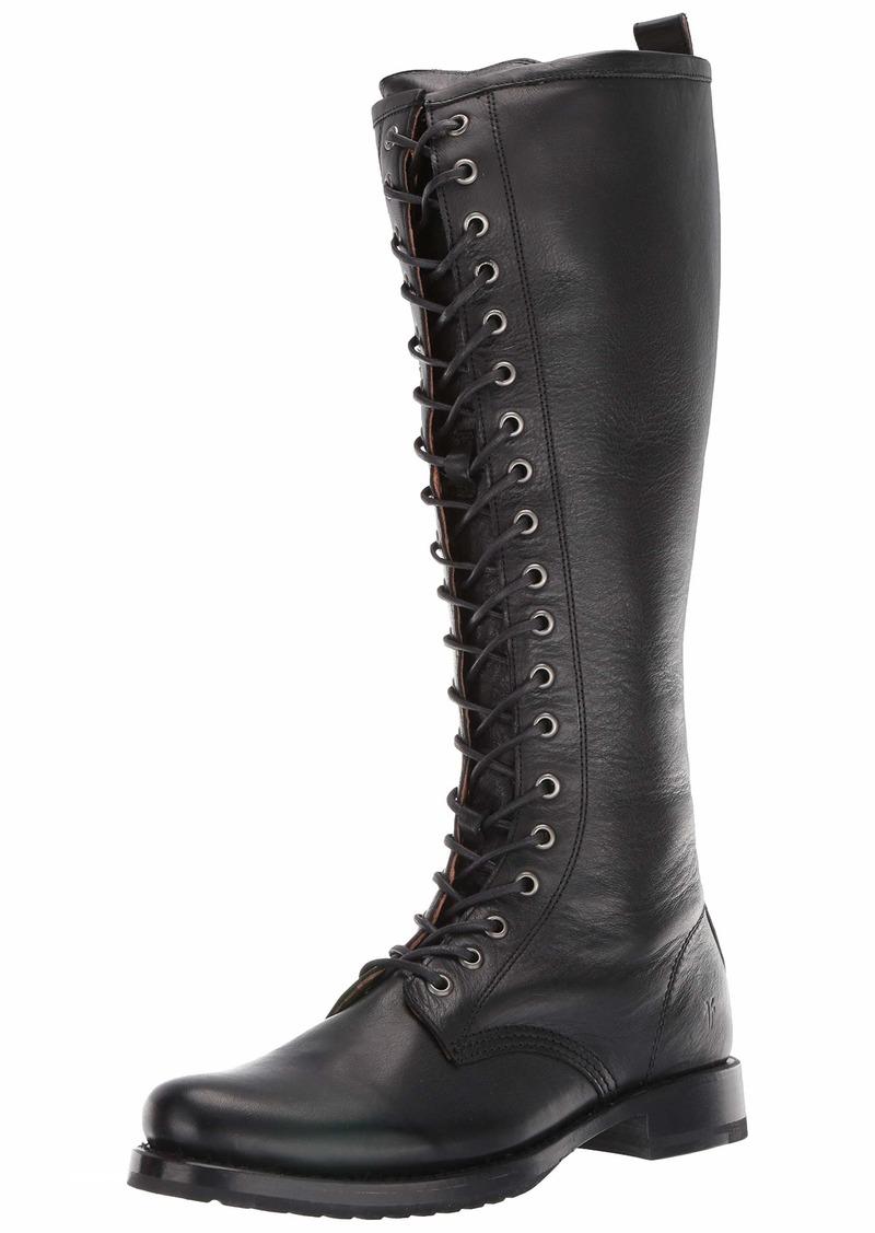FRYE Women's Veronica Combat Tall Boot   M US