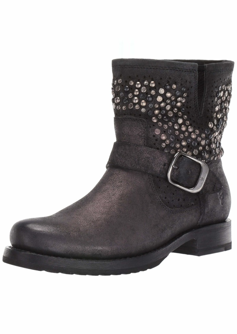 FRYE Women's Veronica Deco Bootie Ankle Boot BlackBerry  M US