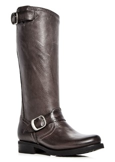 Frye Women's Veronica Leather Engineer Boots