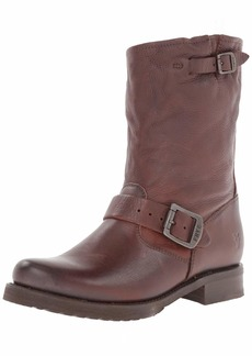 FRYE Women's Veronica Short Boot Dark Brown Soft Vintage Leather-6509