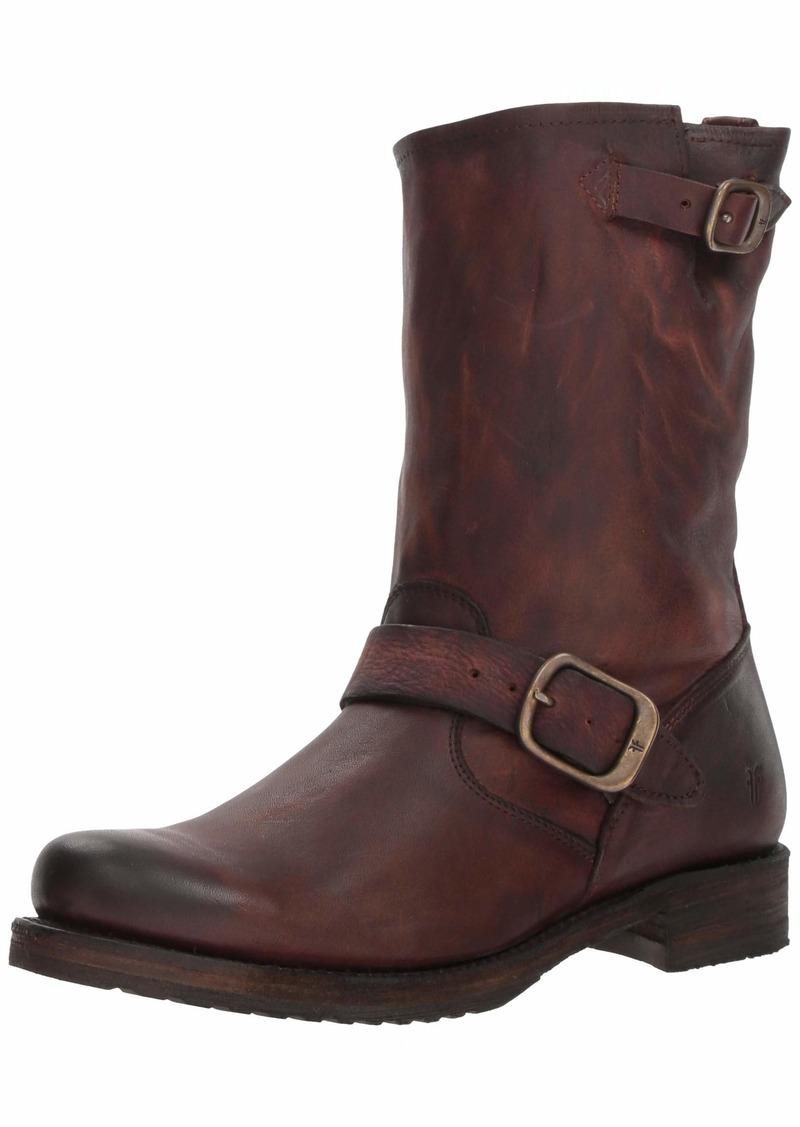 FRYE Women's Veronica Short Boot redwood