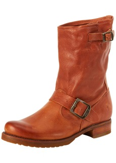 FRYE Women's Veronica Short Boot Whiskey Soft Vintage Leather