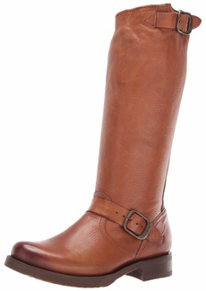 FRYE Women's Veronica Slouch Motorcycle Boot    M M US