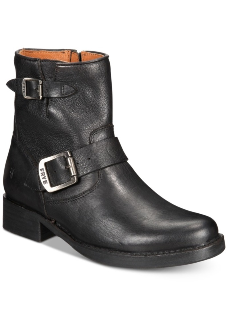 Frye Women's Vicky Leather Booties Women's Shoes