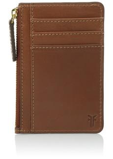Frye Harness Id Card Case Credit Card Holder RUST