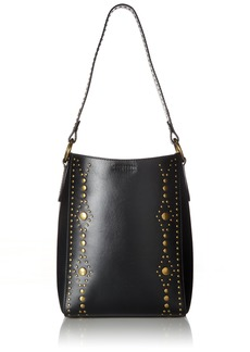 Frye Harness Stud Bucket Bucket Bag BLACK