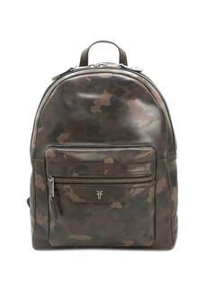 Frye Holden Multi Zip Leather Backpack