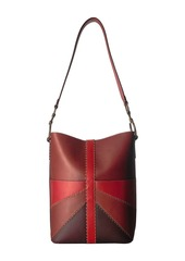 Frye Ilana Color Block Bucket Hobo