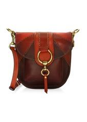 Frye Ilana Colorblock Saddle Bag