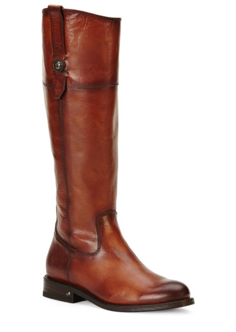 Frye Jayden Button Leather Boots