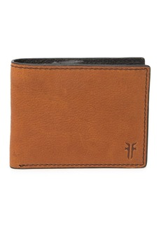 Frye Leather Bifold Coin Wallet
