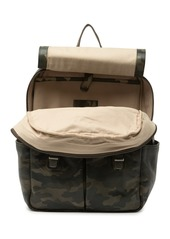 Frye Leather Camo Backpack
