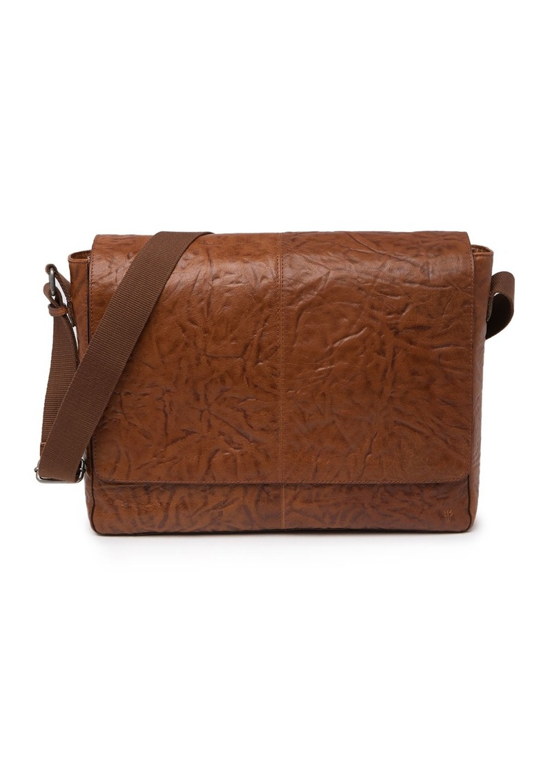Frye Leather Messenger Bag
