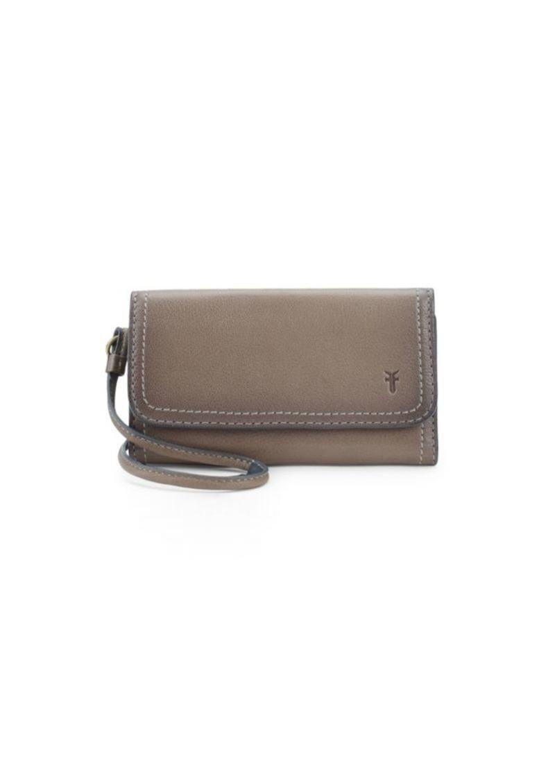 Frye Lily Leather Phone Crossbody Bag