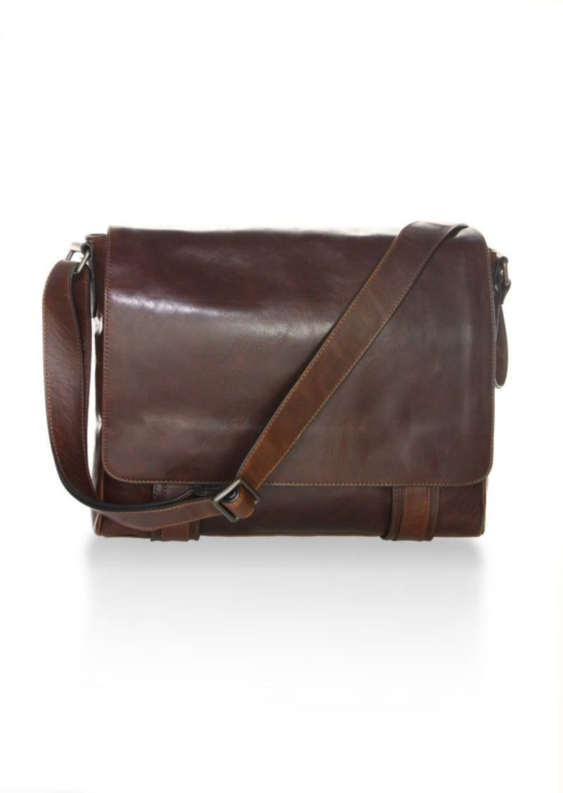 Frye Logan Leather Messenger Bag  26f9da663d149