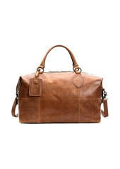 Frye Logan Leather Overnight Bag