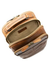 Frye Logan Multi Zip Leather Backpack