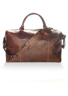 Frye Logan Overnight Leather Duffel Bag