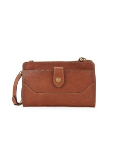 Frye Lucy Leather Crossbody Bag