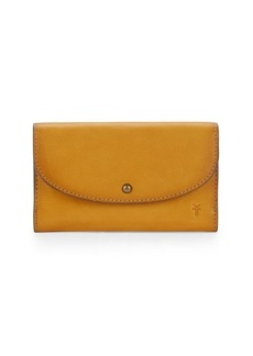Frye Lucy Leather Flap Wallet