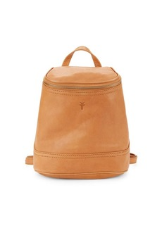 Frye Madison Zip Top Leather Backpack