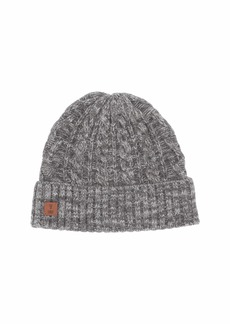 Frye Marled Cable Cuff Hat
